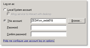 Windows Tips - Managed Service Accounts